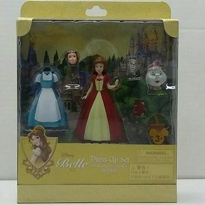 Disney Princess Belle Dress Up Figure Set